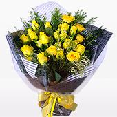 꽃다발 > 노란장미꽃다발1