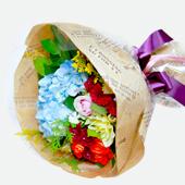 꽃다발 > 수국꽃다발1