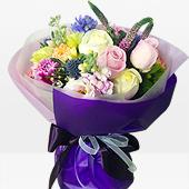 꽃다발 > 파스텔꽃다발2