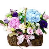 꽃바구니 > 로맨틱꽃바구니1