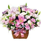 꽃바구니 > 로맨틱꽃바구니2