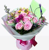 꽃다발 > 돈장미꽃다발1(돈은별도)